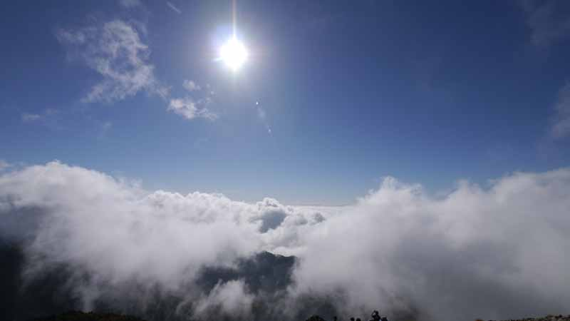 雲の上ともお別れが近い